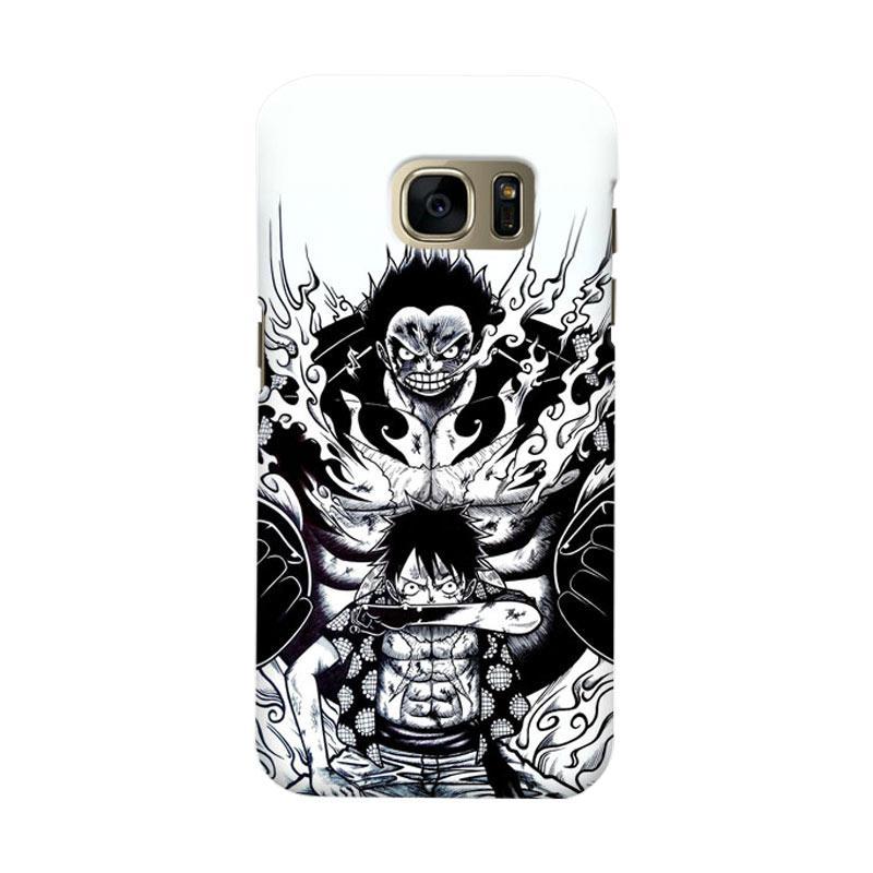 Indocustomcase Luffy Art Casing for Samsung Galaxy S7 Edge
