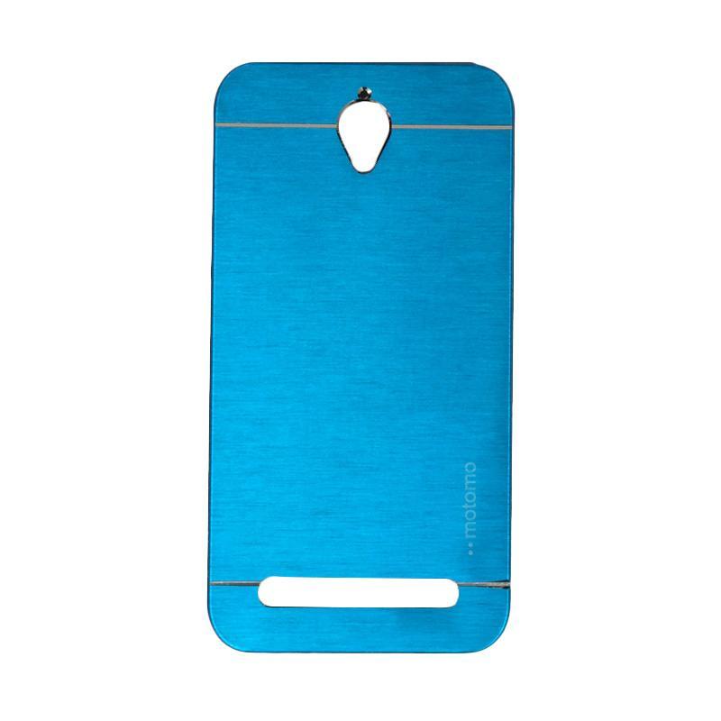 Motomo Metal Hardcase Casing for Asus Zenfone Go ZC451TG or ZC450TG 4.5 Inch - Sky Blue