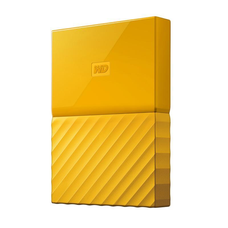 harga WD My Passport ULTRA New Design Portable Hard Disk Eksternal - Kuning [4 TB/USB 3.0/2.5 Inch] + Gratis Kaspersky USB Antivirus + Pouch WD Original + Pen Blibli.com