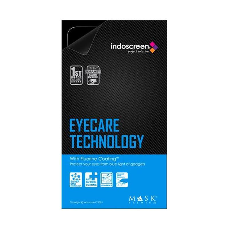 Indoscreen Mask Premium FC Anti Gores Screen Protector for Vivo Y55 - Clear