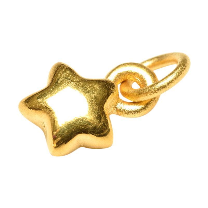 Tiaria Golden Star Pendant Charm Logam Mulia Emas [24K/ 0.3 g]