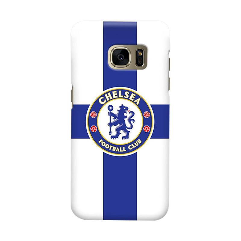 Indocustomcase Chelsea FC CFC02 Cover Casing for Samsung Galaxy S7 Edge