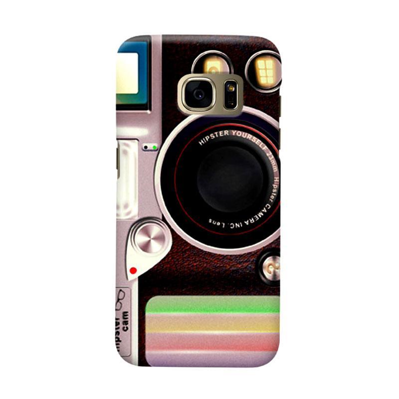Indocustomcase Lomo Camera Casing for Samsung Galaxy S7 Edge