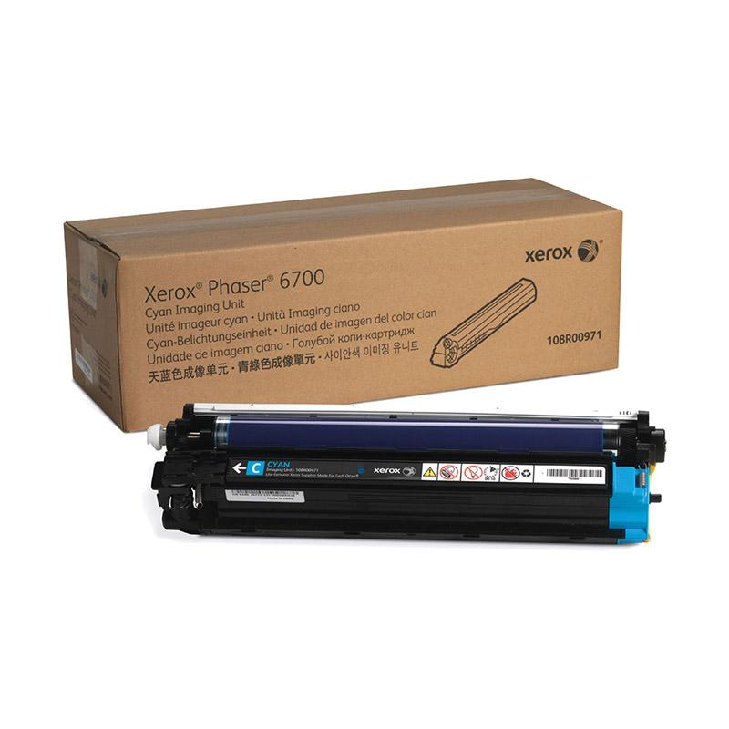 Fuji Xerox 108R00971 Toner for Printer Docuprint Phaser 6700 - Cyan [50rb Halaman]