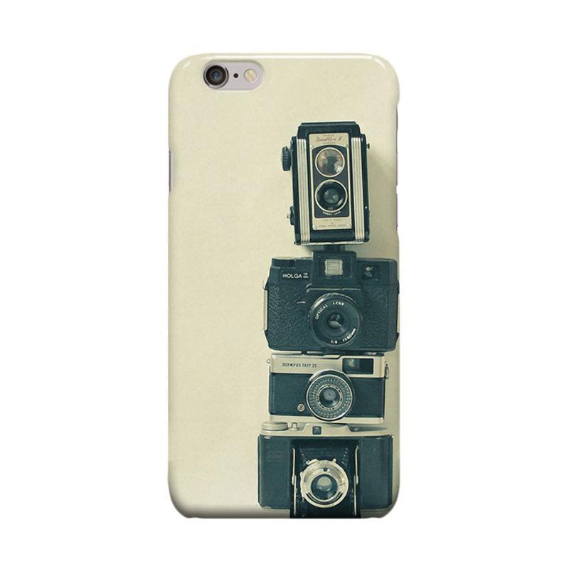 Indocustomcase Camera Casing for Apple iPhone 6 Plus or iPhone 6S Plus