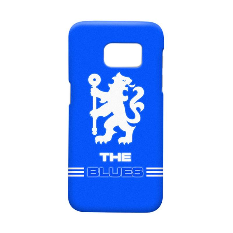 Indocustomcase Chelsea FC CFC03 Cover Casing for Samsung Galaxy S7 Edge