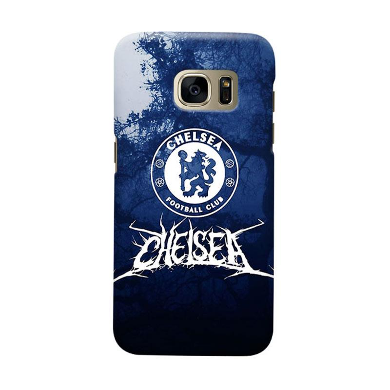 Indocustomcase Chelsea FC CFC05 Cover Casing for Samsung Galaxy S7 Edge