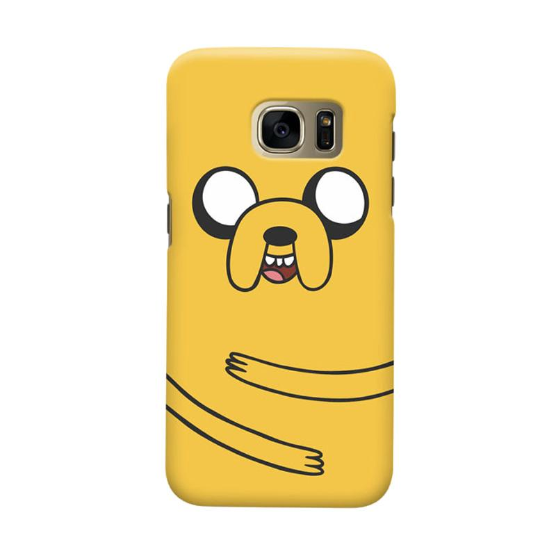 Indocustomcase Jake Adventure Cover Casing for Samsung Galaxy S7 Edge
