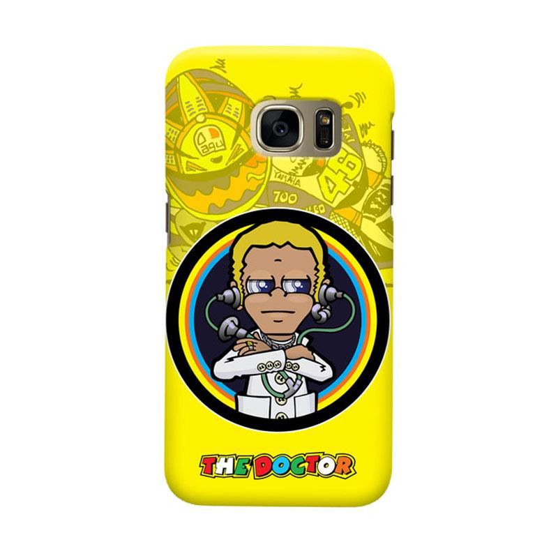 Indocustomcase The Doctor Casing for Samsung Galaxy S7 Edge