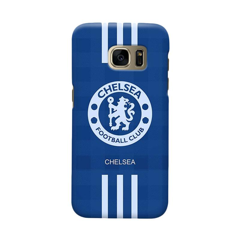 Indocustomcase Chelsea FC CFC06 Cover Casing for Samsung Galaxy S7 Edge