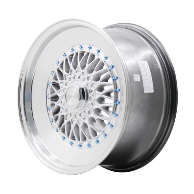 harga HSR Wheel BBS Extream 7906F Velg Mobil - Hyper Silver + Polish Lip [Ring 17x8/9 H5x100/112 ET30/25] Blibli.com