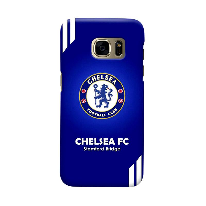 Indocustomcase Chelsea FC CFC07 Cover Casing for Samsung Galaxy S7 Edge
