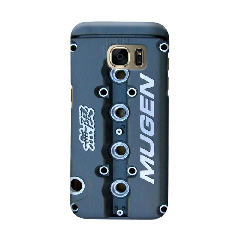 Indocustomcase Honda Mugen Cover Casing for Samsung Galaxy S6 Edge