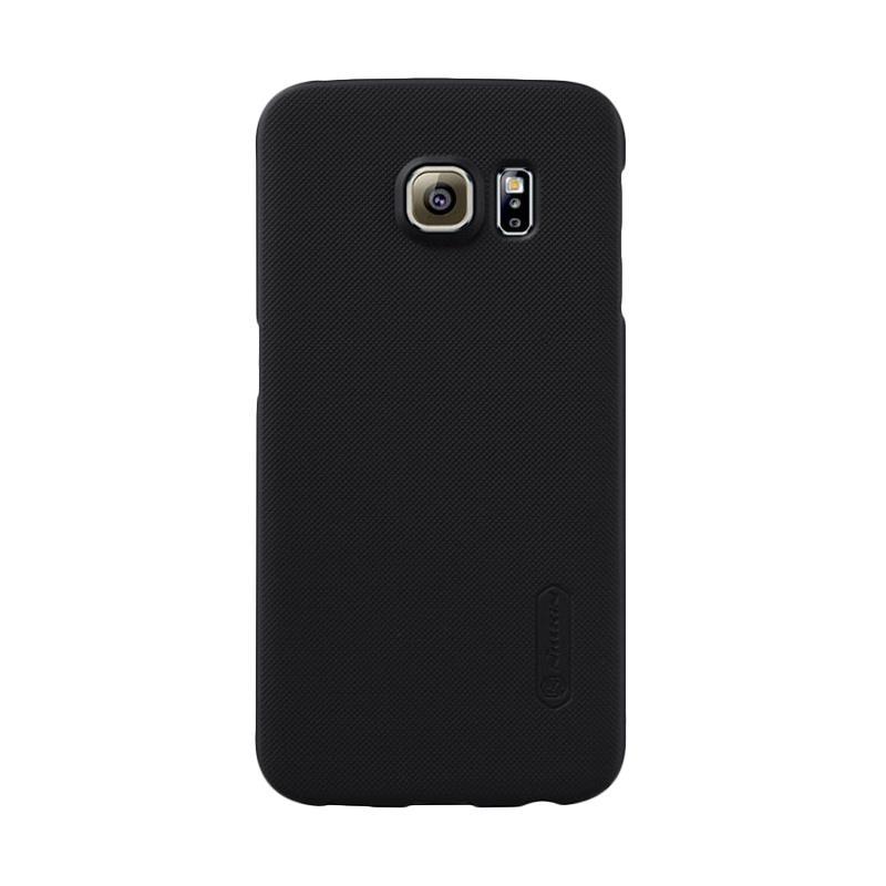 Nillkin Super Shield Hardcase Original Casing for Samsung Galaxy S6 Edge - Black [1 mm]