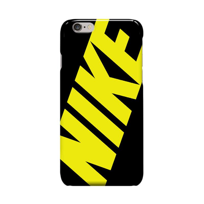 Indocustomcase Nike Yellow Casing for Apple iPhone 6 Plus or 6S Plus
