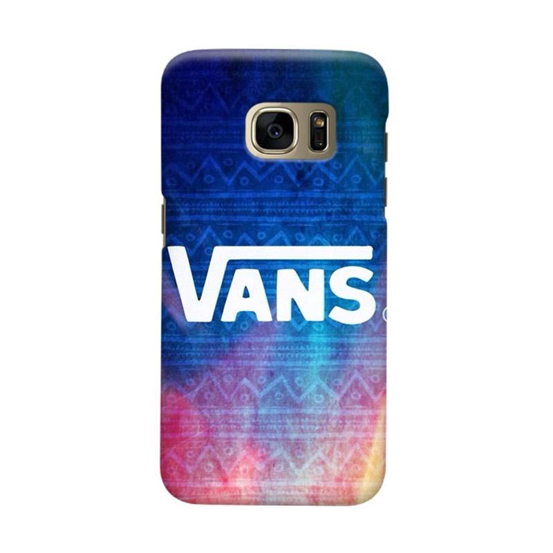 Indocustomcase Vans Aztec Casing for Samsung Galaxy S7 Edge