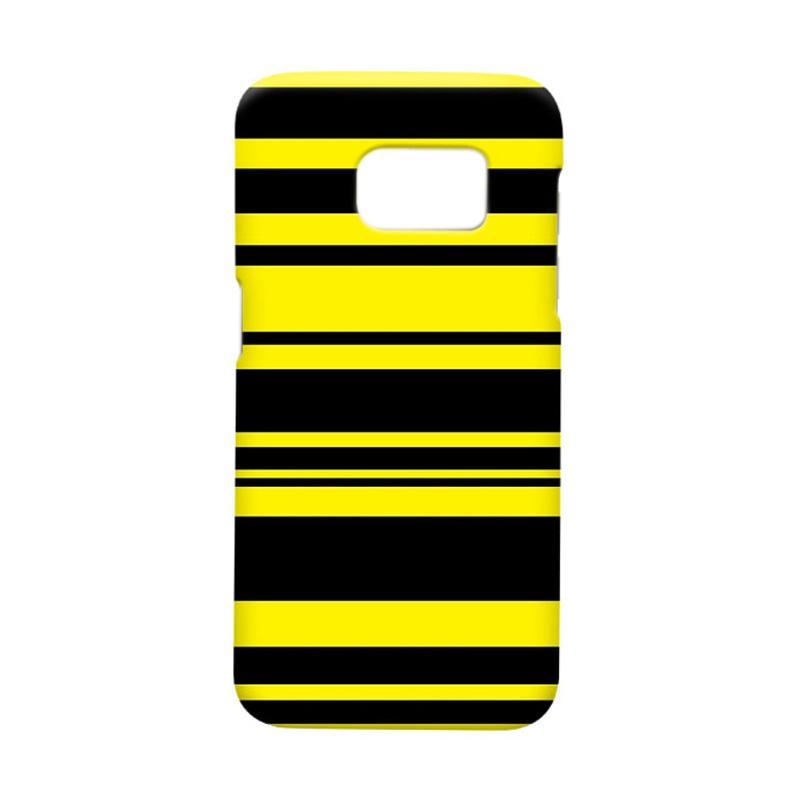 Indocustomcase BVB Stripe Casing for Samsung Galaxy S7 Edge