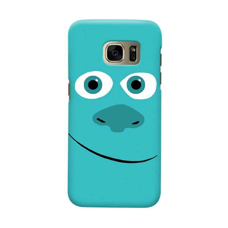 Indocustomcase Monsters Cover Hardcase Casing for Samsung Galaxy S7 Edge