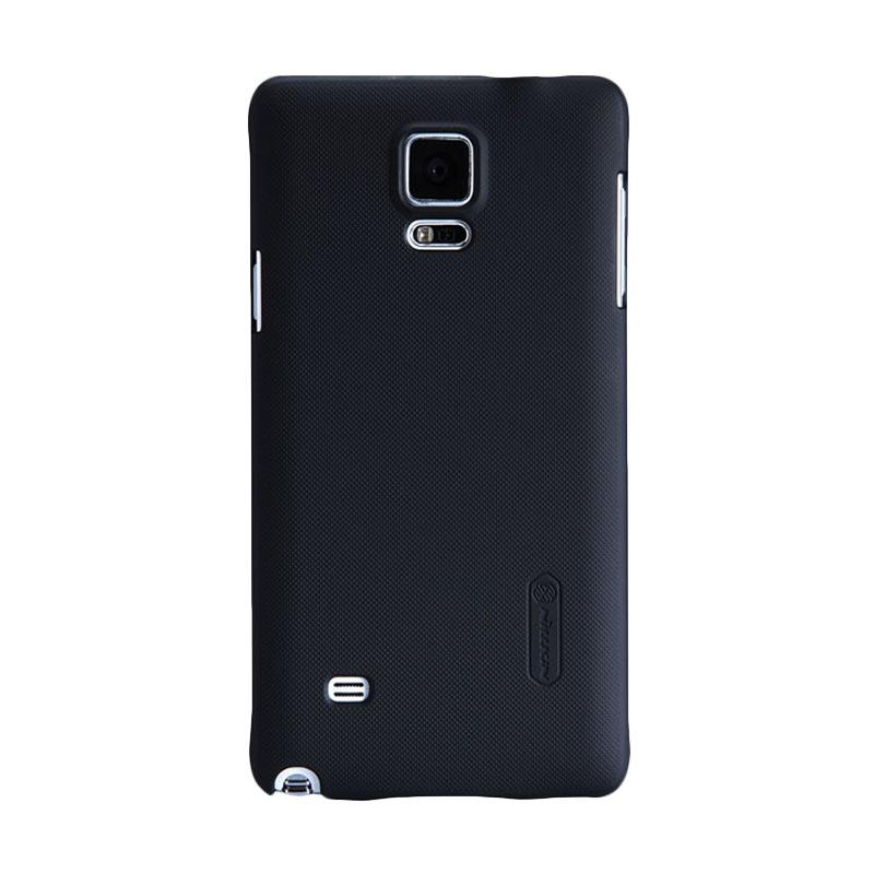 Nillkin Super Shield Original Hardcase Casing for Samsung Galaxy Note 4 - Black [1 mm]