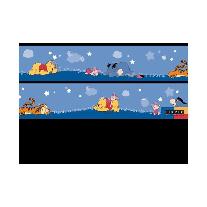 Rekomendasi Seller - Hyundae Fixpix DT 19 S Pooh Sleep Border Sticker Dekorasi Dinding [5 cm x 5 m]