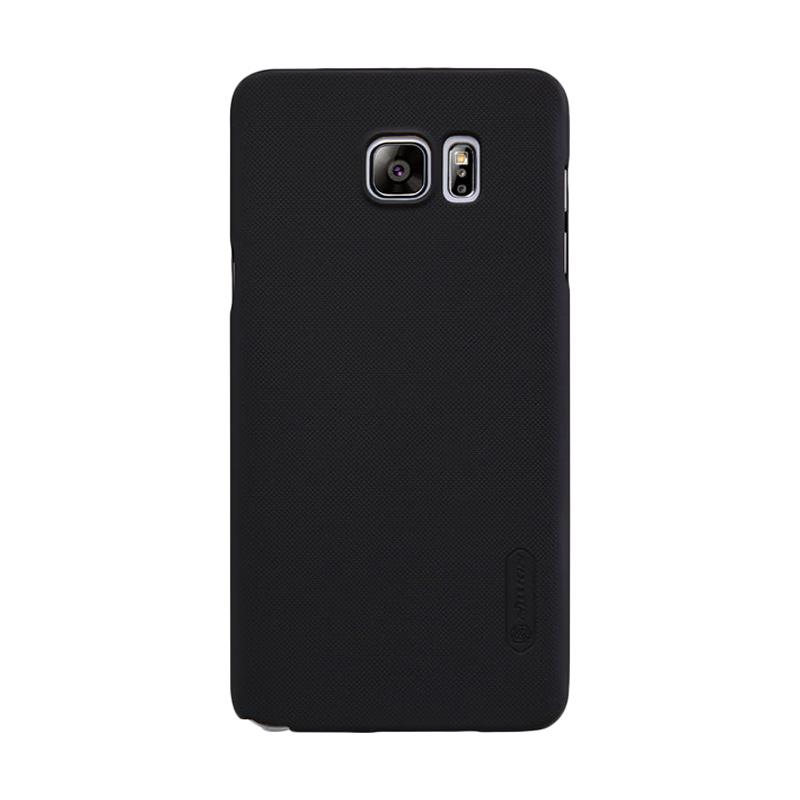 Nillkin Original Super Shield Hardcase Casing for Samsung Galaxy Note 5 - Black [1 mm]