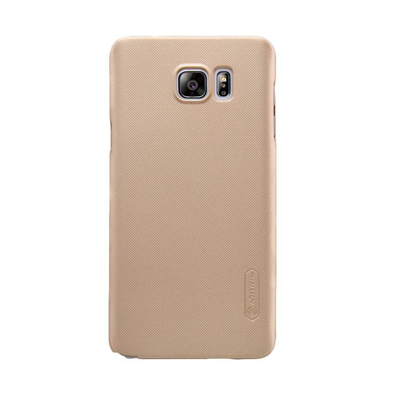 Nillkin Original Super Shield Hardcase Casing for Samsung Galaxy Note 5 - Gold [1 mm]
