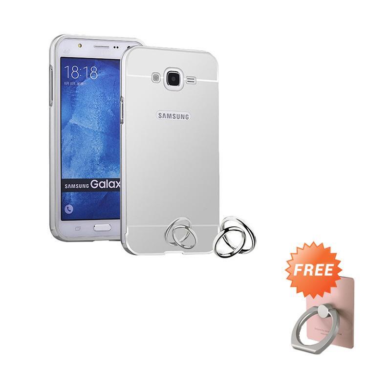 Jual Elshadai Bumper Mirror Casing for Samsung Galaxy V G313 Ace 4 Silver .