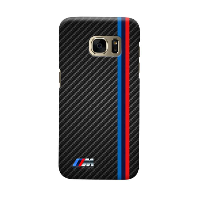 Indocustomcase BMW Logo Stripes Cover Casing for Samsung Galaxy S6