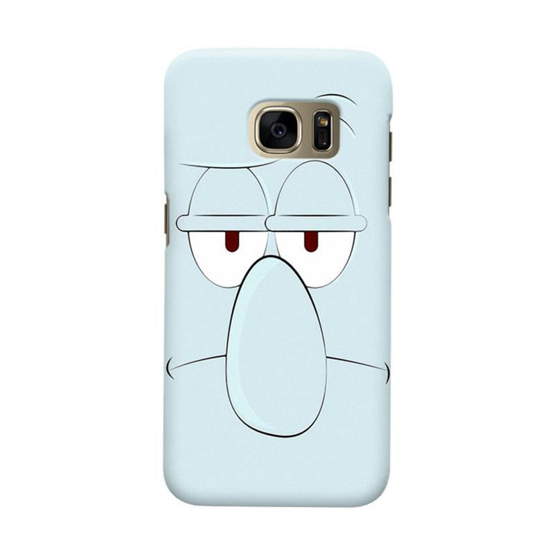 Indocustomcase Squidward Casing for Samsung Galaxy S7 Edge