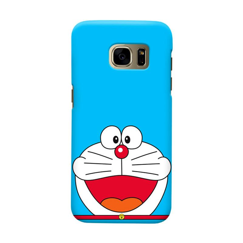 Indocustomcase Doraemon SC Cover Casing for Samsung Galaxy S7 Edge