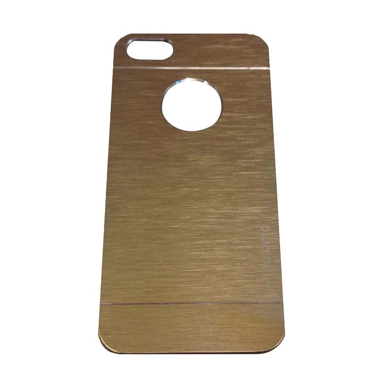 Motomo Metal Hardcase Backcase Casing for Apple iPhone6/iPhone 6G/iPhone 6S 4.7 Inch - Gold
