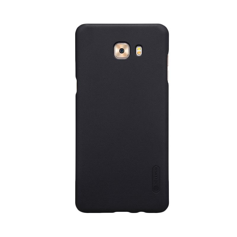 Nillkin Original Super Shield Hardcase Casing for Samsung Galaxy C9 Pro - Black [1 mm]