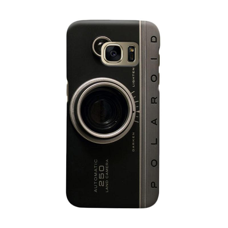 Indocustomcase Camera Polaroid Cover Casing For Samsung Galaxy S6