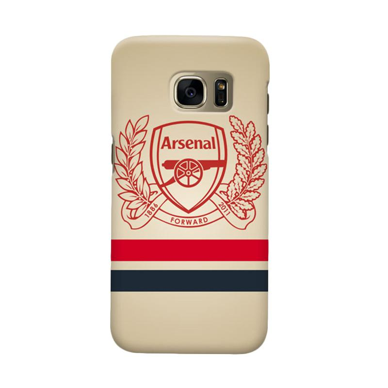 Indocustomcase Arsenal FC AFC01 Casing for Samsung Galaxy S6 Edge
