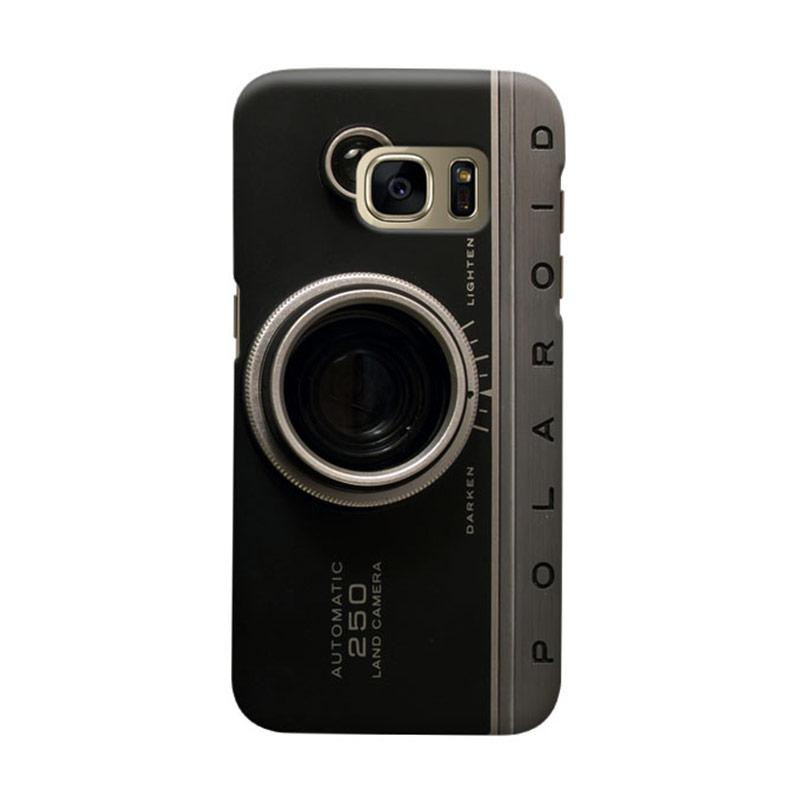 Indocustomcase  Camera Polaroid Cover Casing for Samsung Galaxy S7