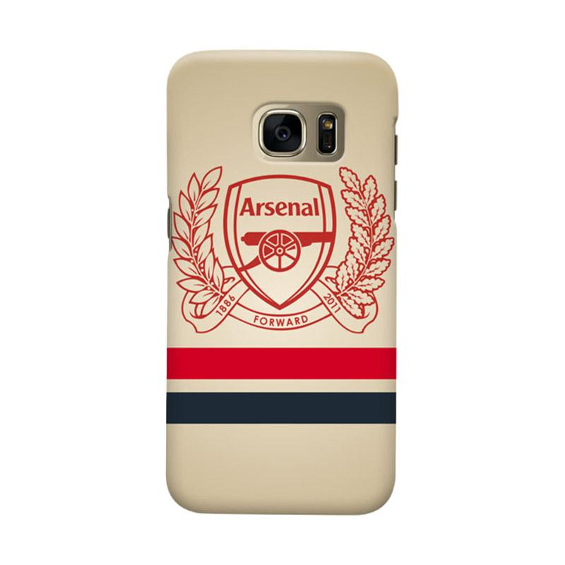 Indocustomcase Arsenal FC AFC01 Cover Casing for Samsung Galaxy S7 Edge