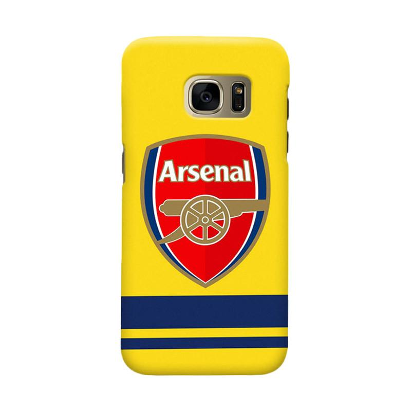 Indocustomcase Arsenal FC AFC10 Cover Casing for Samsung Galaxy S7 Edge