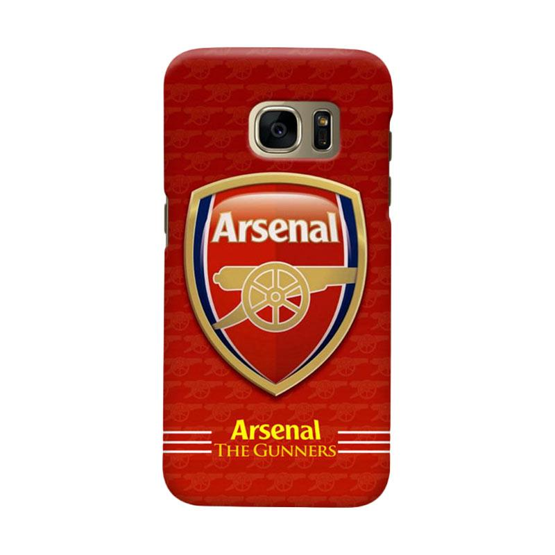 Indocustomcase Arsenal FC AFC11 Cover Casing for Samsung Galaxy S7 Edge