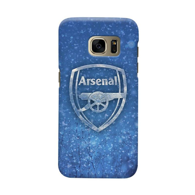 Indocustomcase Arsenal FC AFC02 Cover Casing for Samsung Galaxy S7 Edge
