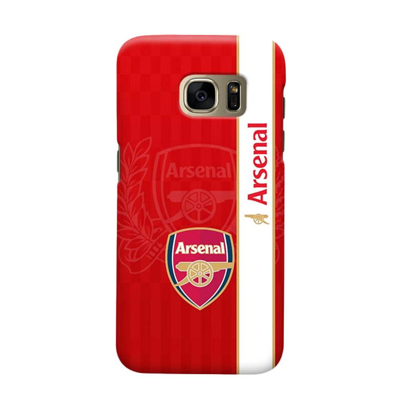 Indocustomcase Arsenal FC AFC03 Casing for Samsung Galaxy S6 Edge