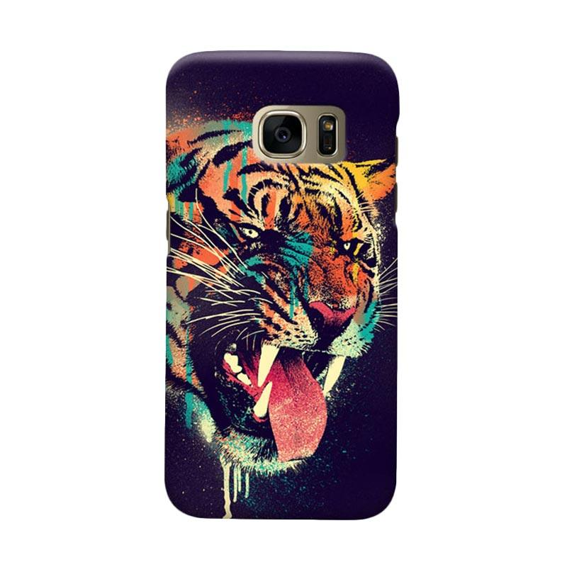 Indocustomcase Felicius Tiger Cover Casing for Samsung Galaxy S6