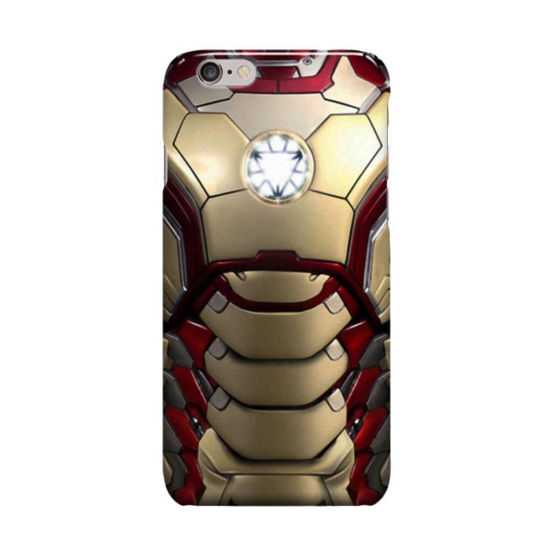 Indocustomcase Iron Man Body Casing for Apple iPhone 6 Plus or 6S Plus
