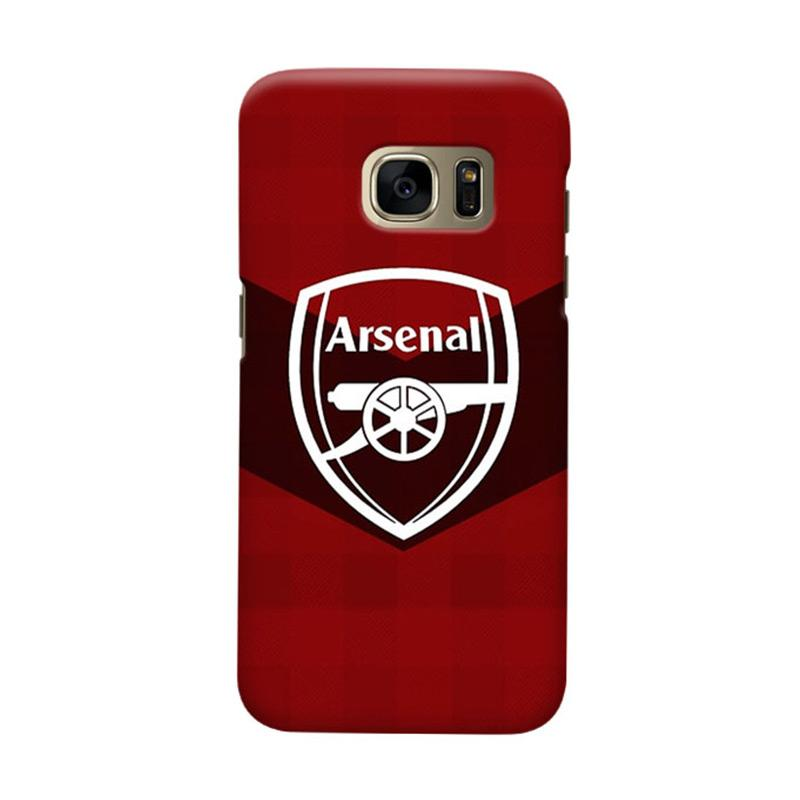 Indocustomcase Arsenal FC AFC04 Cover Casing for Samsung Galaxy S7 Edge