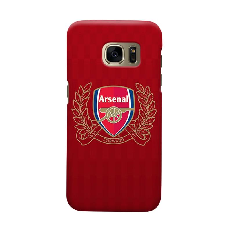 Indocustomcase Arsenal FC AFC05 Casing for Samsung Galaxy S6 Edge