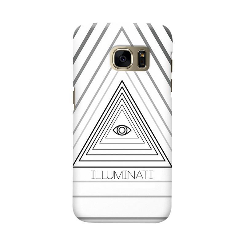 Indocustomcase Iluminaty Cover Casing for Samsung Galaxy S6 Edge