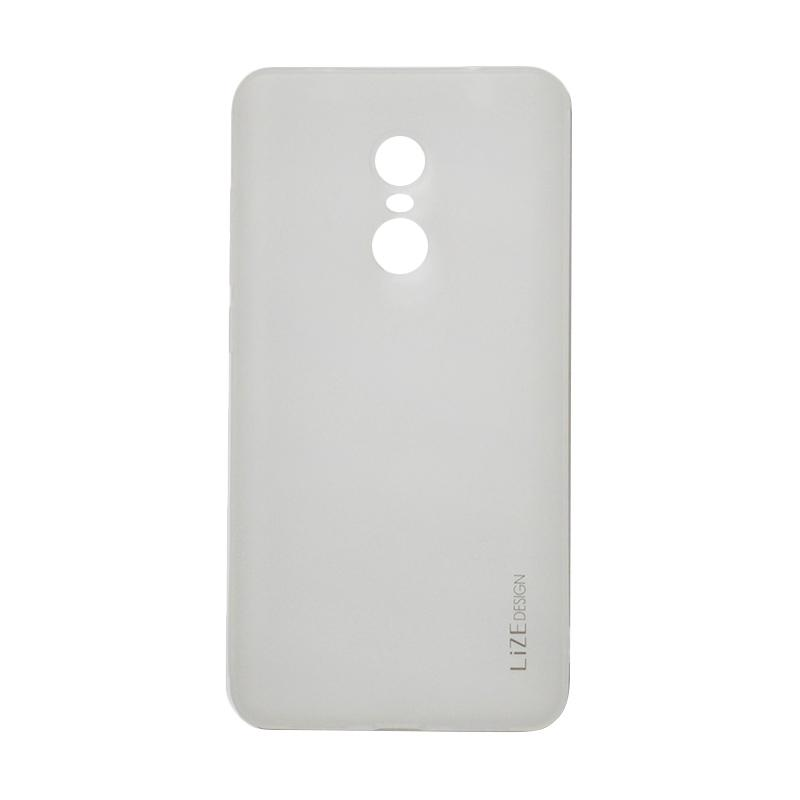 Lize Design Softshell Color Matte Softcase Casing for Xiaomi Redmi Note 4x - White