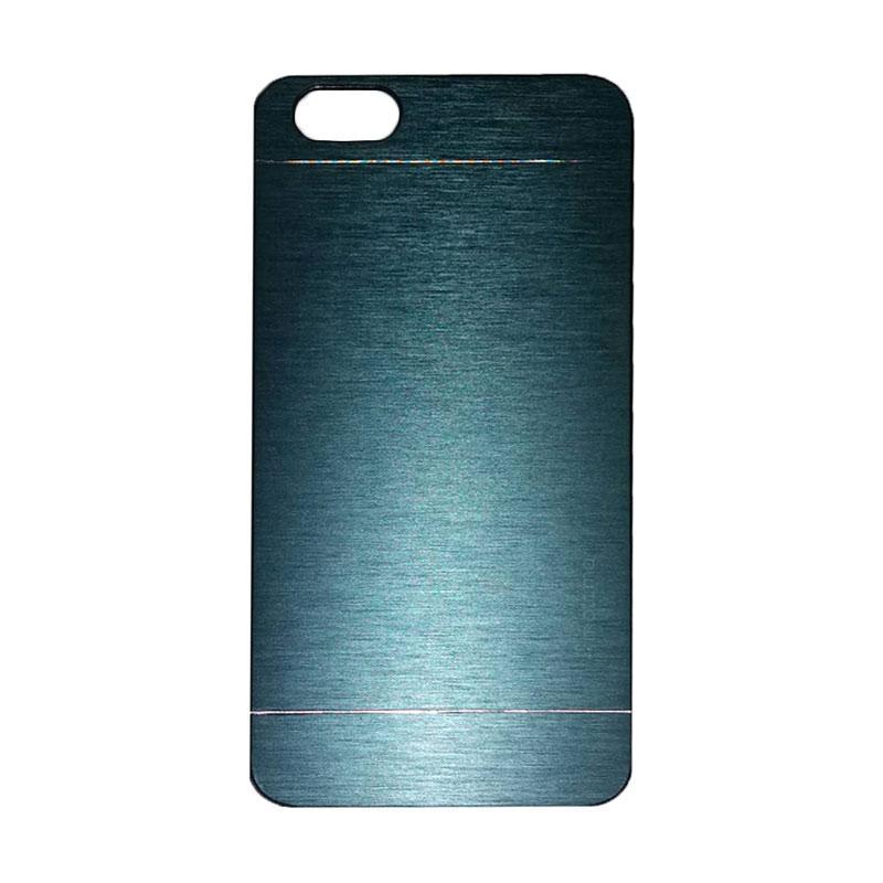 Motomo Metal Hardcase Backcase Casing for Huawei Honor 4X/Gplay/Huawei 4X - Dark Blue