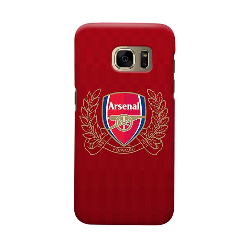 Indocustomcase Arsenal FC AFC05 Cover Casing for Samsung Galaxy S7 Edge