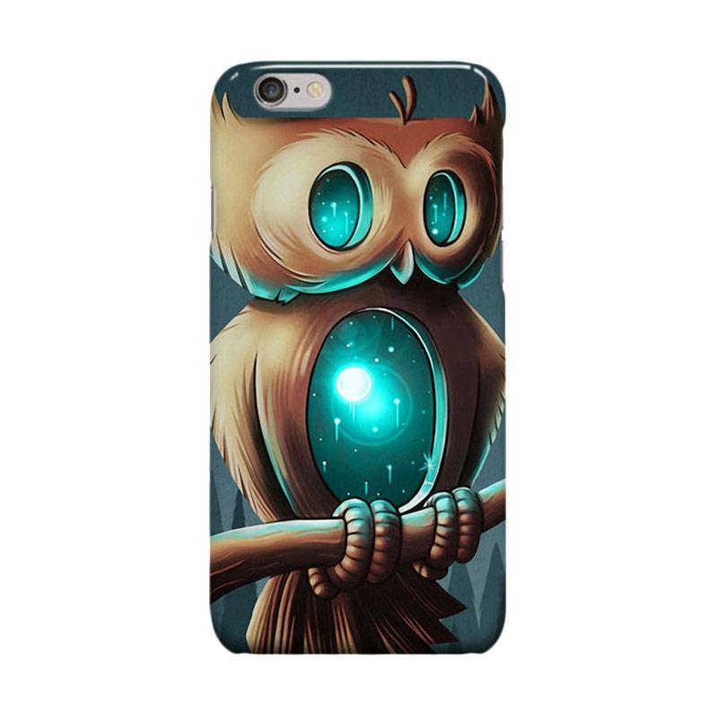 Indocustomcase Knight Birds Cover Casing for iPhone 6 Plus or 6S Plus