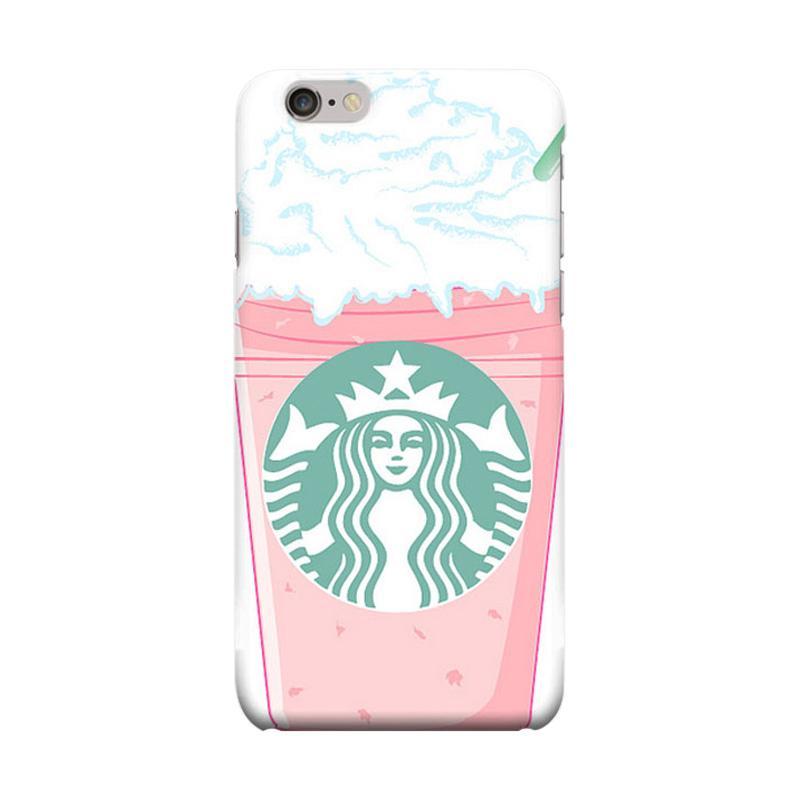 Indocustomcase Starbuck Art Casing for Apple iPhone 6 Plus or 6S Plus